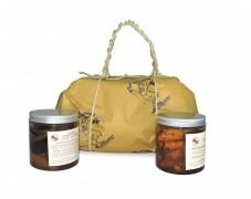 Pacco regalo mostarda di frutta mista di macedonia e mostarda Mantovana di mele con tartufo