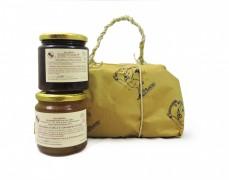 Pacco regalo mostarda viadanese di pere e mostarda di cipolle rosse