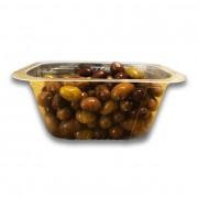 Olivette Liguri in salamoia vaschetta 250 gr.ca.