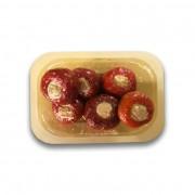 Peperoncini ripieni con tonno vaschetta di polipropilene 300 gr.ca.